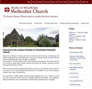Burley in Wharfedale Methodist Church